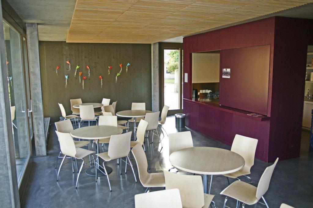 Cafeteria ohne Küche