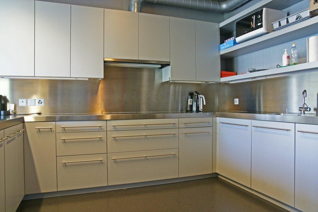 Cafeteria mit Küche