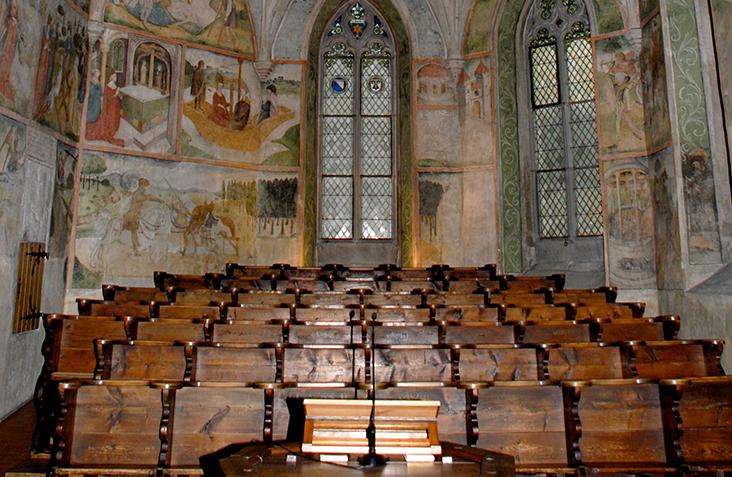Kirchenbenutzung<br>für Einheimische